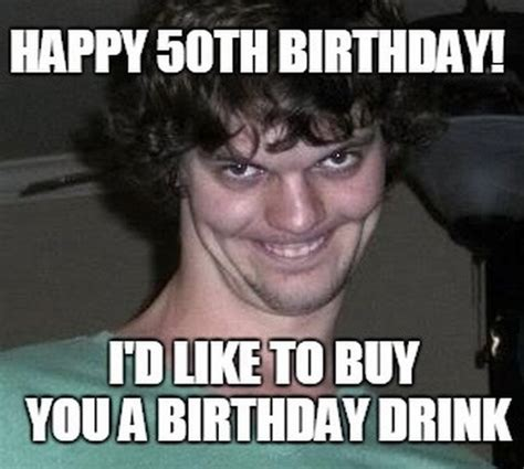 Turning 50 Memes - happy 50th birthday memes wishesgreeting