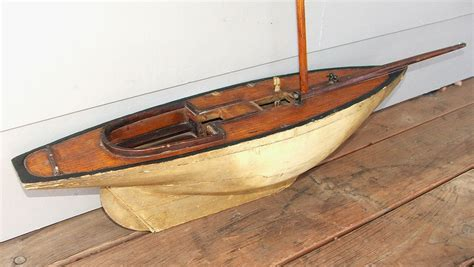 toy boat design antique toy wooden wood model pond yacht pond yachts
