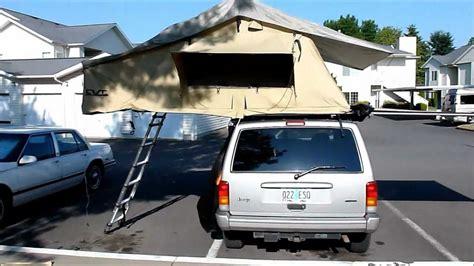 jeep compass tent cascadia vehicle tents cvt mt rainier jeep cherokee