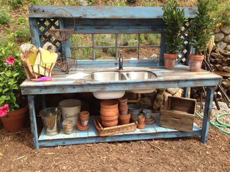 stainless steel potting bench 25 best ideas about outdoor garden sink on pinterest