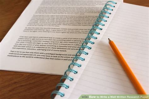 how to write a well written research paper how to write a well written research paper 8 steps
