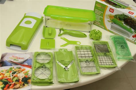 Alat Pemotong Sayur Kitchen Set Slicer Cutter Chopper alat pemotong set nicer dicer plus kitchen utensil salad