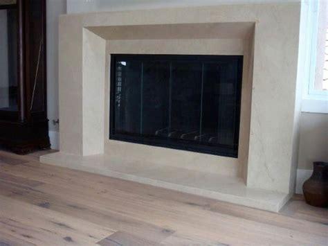 Fireplace Slabs by Honed Limestone Slab Fireplace Modern Seattle