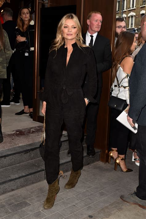 Kate Moss Causes Frenzy At Londons Topshop by Kate Moss Topshop Show In 09 17 2017