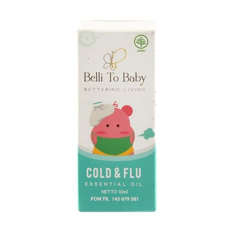 jual belli to baby cold and flu essential