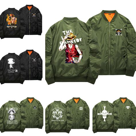 Hoodie Jaket Sweater Greenlight one bomber jacket luffy chopper anime coat jacket sweater cotton thick hoodie