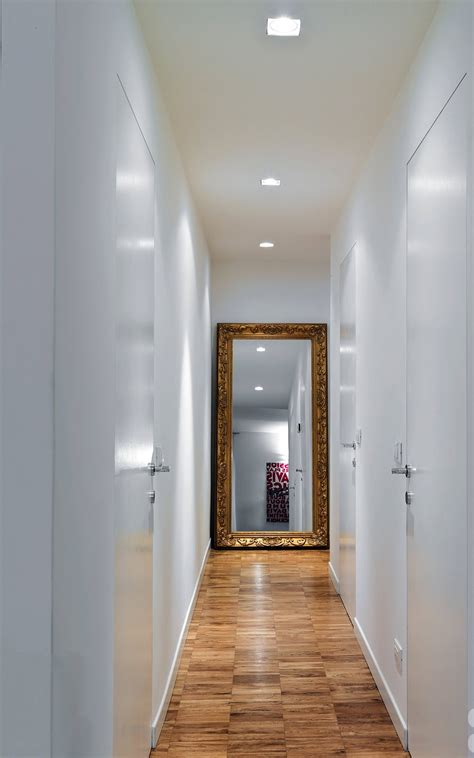illuminazione corridoi il corridoio lungo corto largo o stretto spazio