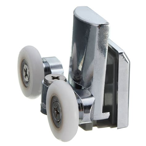 Shower Door Runner Wheels 2pcs Bottom Zinc Alloy Shower Door Rollers Runners Wheels 23mm Wheel Ebay