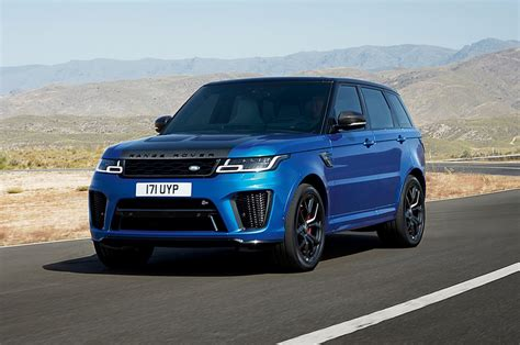 land rover range rover sport 2018 range rover sport svr drive motor trend
