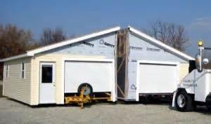modular garages exploring options in pre built garages
