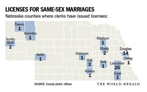 Nebraska Marriage Records Out Of Nebraska S 93 Counties Only One Sioux County