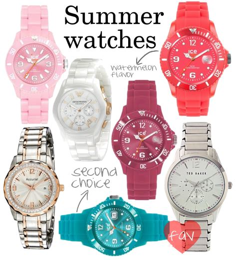 colorful watches colorful watches fashion in my
