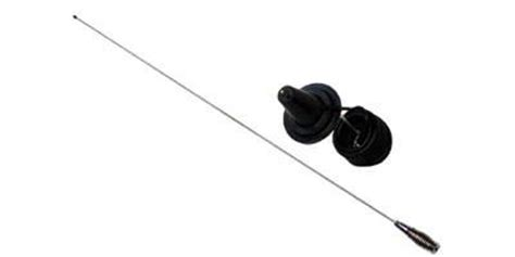 magnetic cb antenna with optional 36 quot right channel radios