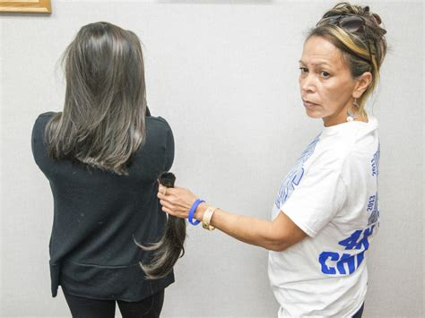 lady intermediate hair coach s bet with high school wrestler to clip long hair