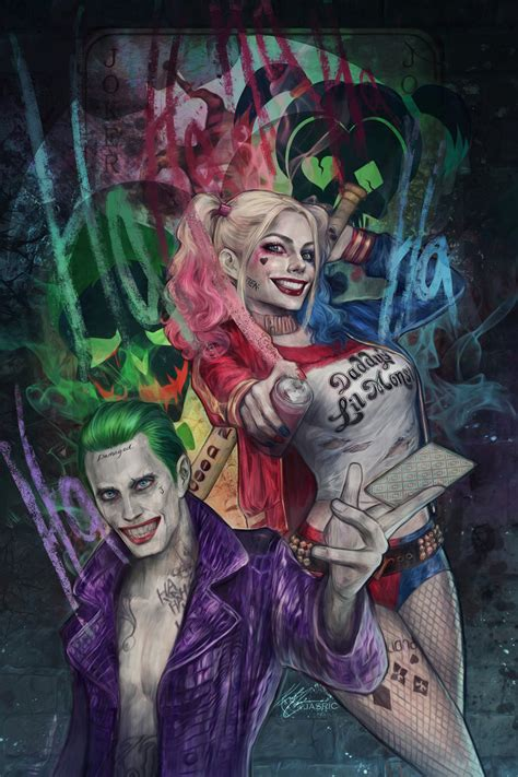joker suicide squad 2016 movies wallpaper 2018 in movies joker and harley suicide squad by jasric on deviantart