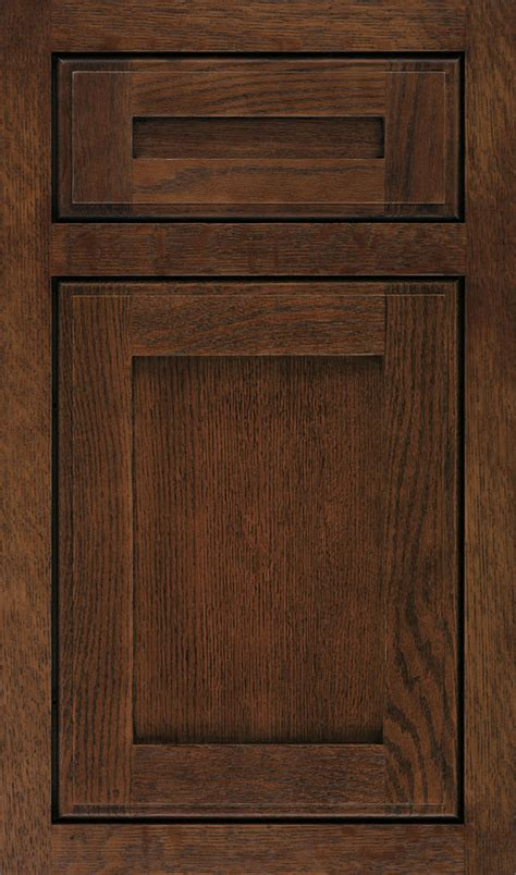quartersawn oak cabinets in rustic kitchen decora - Quarter Sawn Oak Cabinets