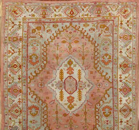 Handmade Turkish Rugs - antique oushak carpet turkish rugs handmade rug