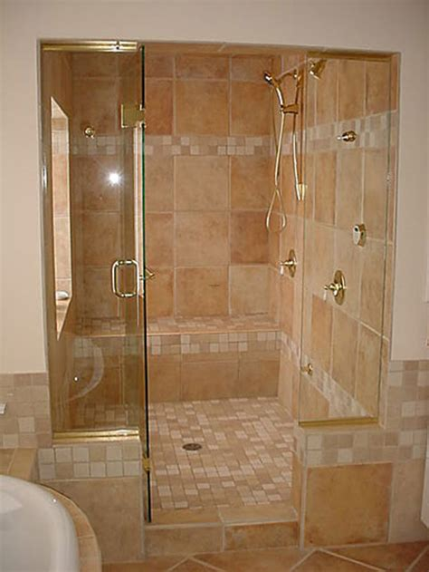 bathroom shower design ideas best bathroom remodel using shower enclosures with heavy glass shower doors design bookmark 13869