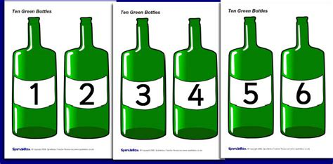 Green Bottles opinions on ten green bottles