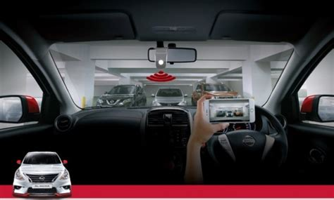Cermin Nissan Almera nissan perkenal peranti perakam dvr baharu