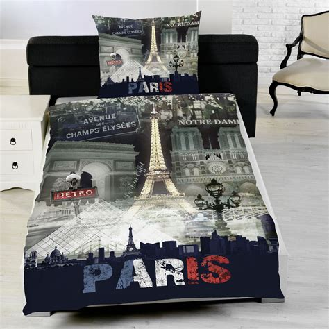 Eiffel Tower Quilt Cover Single by Bedding Single Duvet Cover Sets City Landmarks