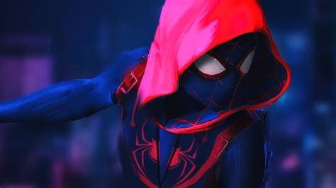 spiderman   spider verse    artwork laptop full hd p hd