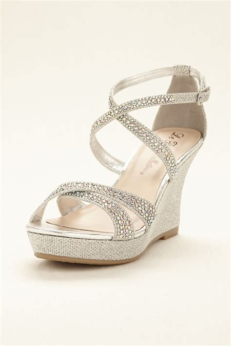 Wedding Shoes For Wedges by 25 Best Ideas About Wedge Wedding Shoes On