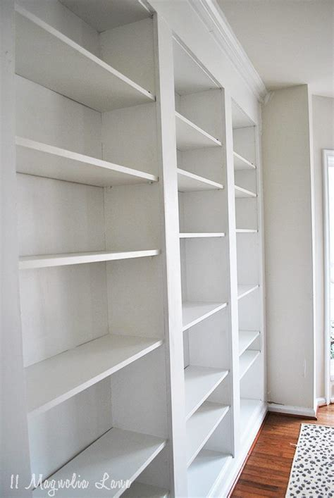bookcase built into wall built in bookshelves from ikea billy bookcases how to do