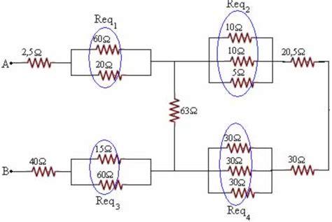 a resistencia do resistor equivalente da associação f 237 sica 233 tudo exercicios 3 186 ano