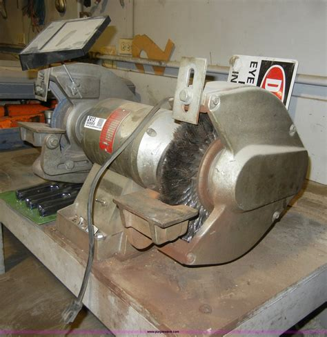 wissota bench grinder wissota e10 bench grinder item 2413 sold may 25