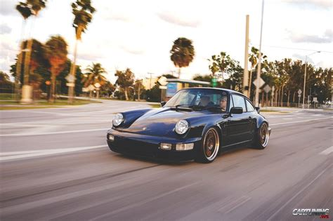 lowered porsche 911 lowered porsche 911 2 964 front