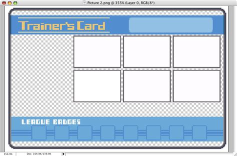 Cards Template Looking by How To Make A Trainer Card Pat S
