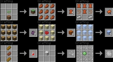 craft recipes 1 9 vmod more crafting recipes minecraft project
