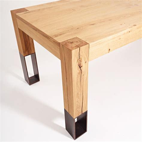 tavoli in legno design acqua alta tavolo in legno colico design con gambe in