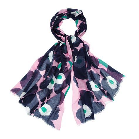 marimekko unikko fiorina scarf marimekko scarves sale