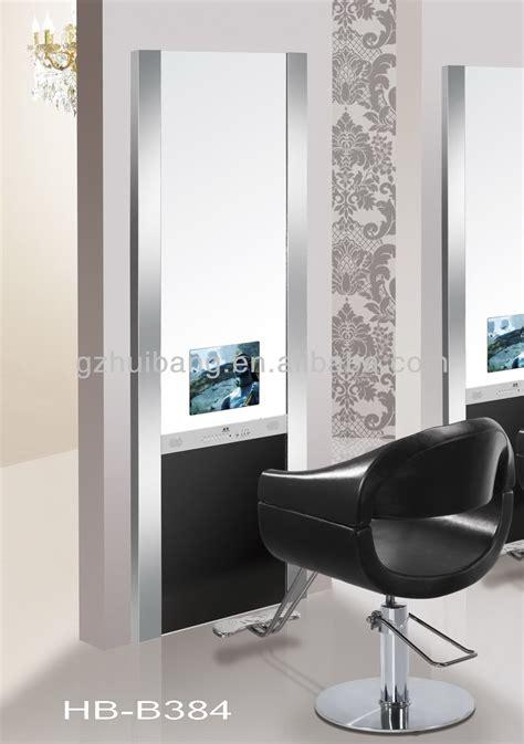 mirror image salon hair salon mirror station styling station with tv hb b384