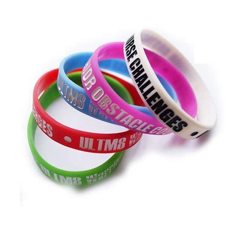 Silikon Custom custom promotional silicon bracelet adjustable silicon