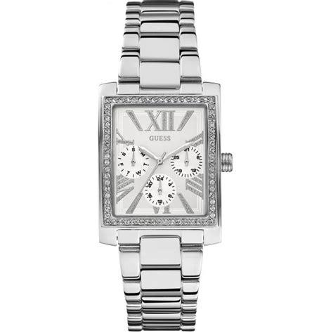 Guess Gc 113 montre guess montre w0446l1 montre acier rectangulaire