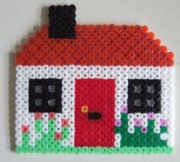 hama beads house design buildings patterns hama bead patterns
