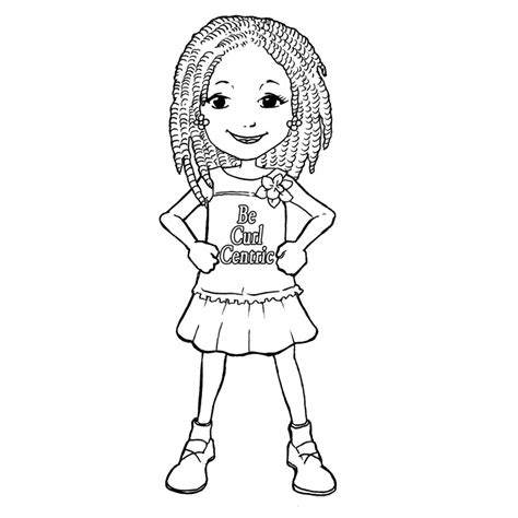 happy girl coloring page happy little girl coloring pages coloringsuite com
