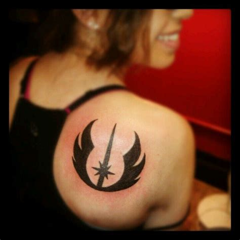 jedi tattoos jedi symbol wars tattoos