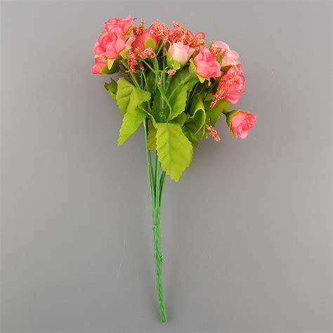 Artificial Flowers For Garden 21pcs Artificial Flower Silk Flower Arrangement Home Garden Room Ebay