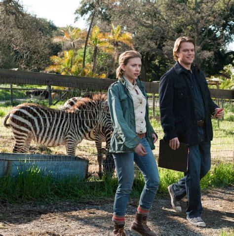 matt damon bought a zoo review we bought a zoo doesn t earn its stripes toronto