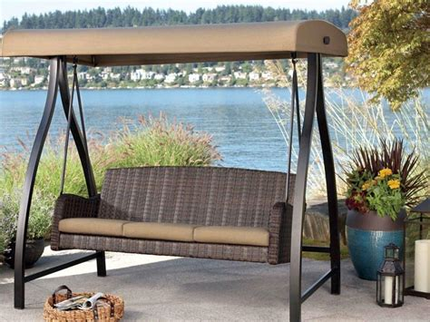 design of patio swing with canopy jacshootblog furnitures