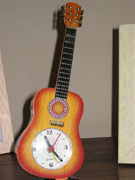guitar alarm clock i it for the home