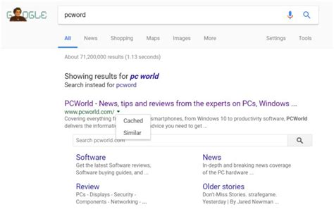 search google pcworld