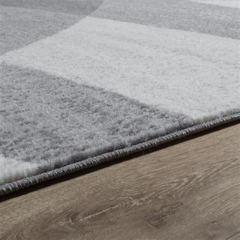Teppich Grau Modern by Designer Teppich Grau Meliert Kurzflor Modern Geschwungen