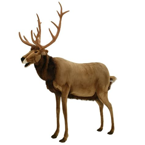 animated deer hansa lifesize animated talking reindeer the green