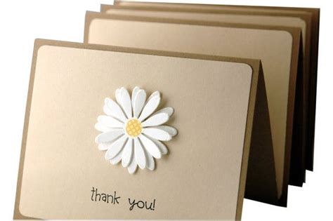 Handmade Thank You Notes - thank you cards simple thank you notes handmade thank