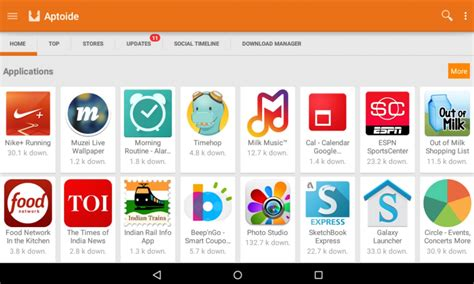 aptoide on downloader free aptoide apk installer and download